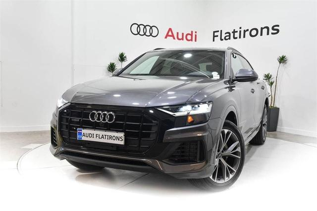 new 2021 Audi Q8 car, priced at $74,295