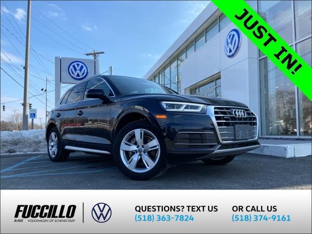 used 2018 Audi Q5 car, priced at $31,450