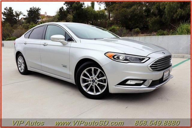 used 2017 Ford Fusion Energi car, priced at $14,799
