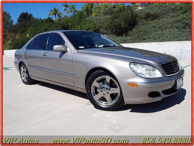 used 2005 Mercedes-Benz S-Class car, priced at $9,499