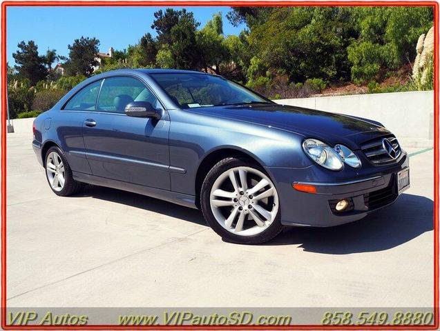 used 2007 Mercedes-Benz CLK-Class car, priced at $12,499