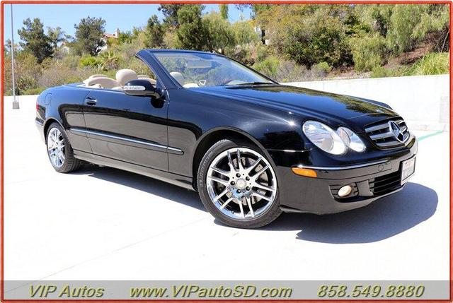 used 2009 Mercedes-Benz CLK-Class car, priced at $14,799