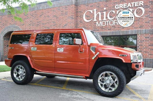 used 2003 Hummer H2 car, priced at $27,995