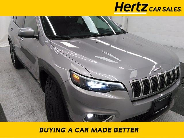 used 2019 Jeep Cherokee car, priced at $20,904