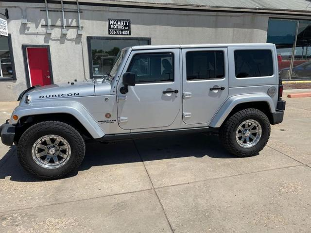 used 2012 Jeep Wrangler Unlimited car, priced at $30,999