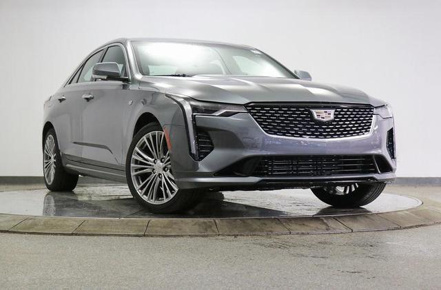 new 2021 Cadillac CT4 car, priced at $49,025