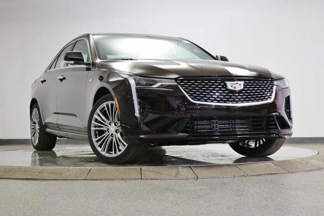 new 2021 Cadillac CT4 car, priced at $46,275