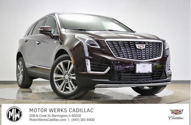 new 2021 Cadillac XT5 car, priced at $59,305