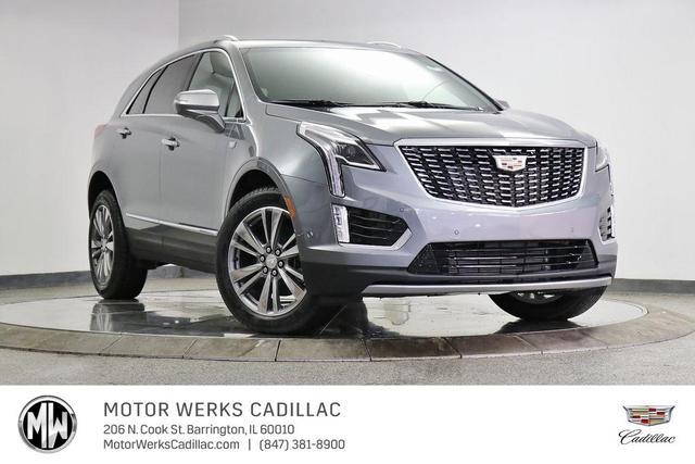 new 2021 Cadillac XT5 car, priced at $58,680