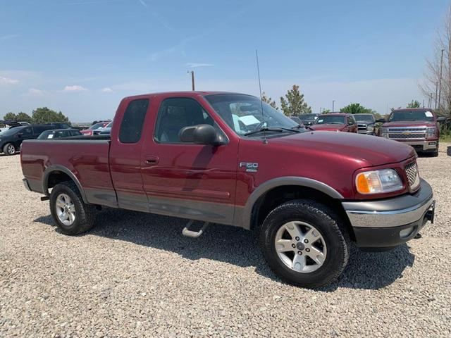 used 2003 Ford F-150 car, priced at $9,800