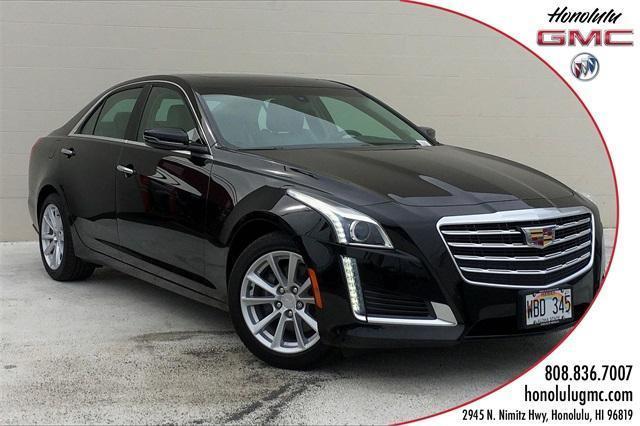used 2018 Cadillac CTS car, priced at $30,923