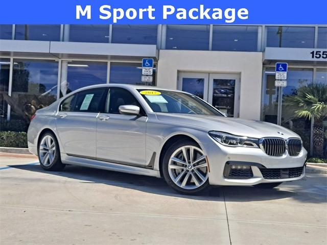 used 2017 BMW 750 car, priced at $51,919