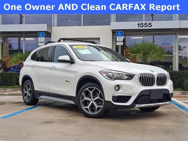 used 2018 BMW X1 car, priced at $28,992