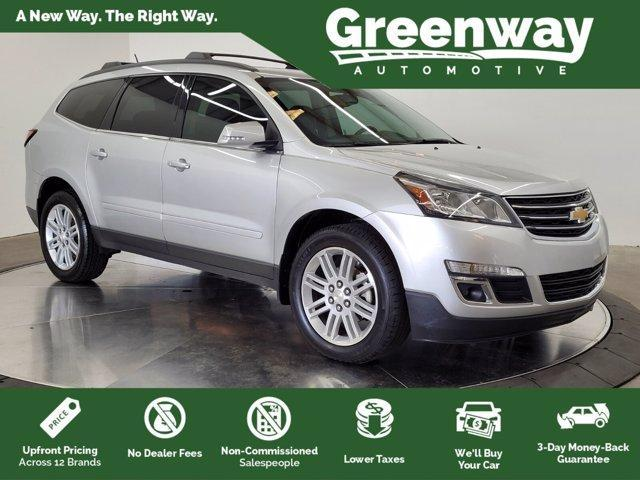used 2015 Chevrolet Traverse car, priced at $14,537