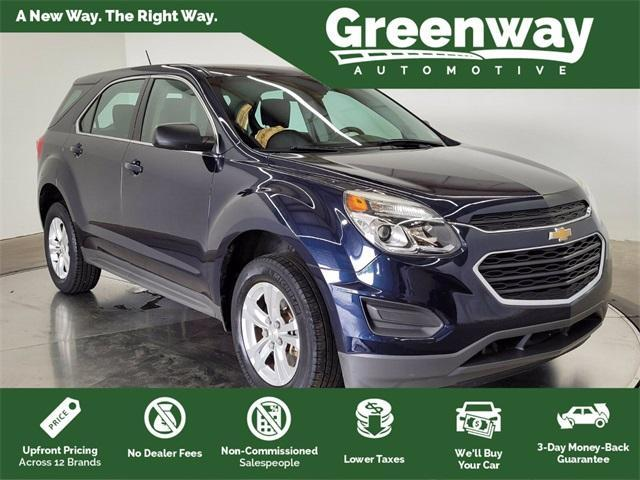 used 2017 Chevrolet Equinox car, priced at $19,715
