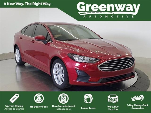 used 2019 Ford Fusion car, priced at $19,599