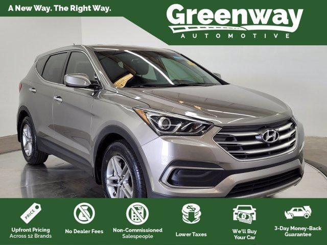 used 2018 Hyundai Santa Fe Sport car, priced at $22,994
