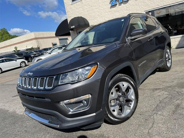used 2020 Jeep Compass car, priced at $21,695