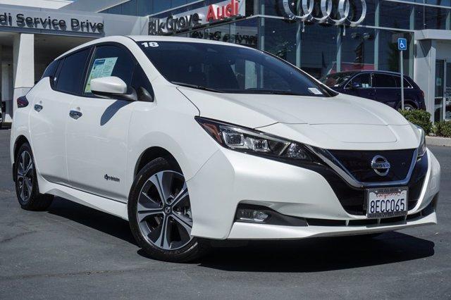 used 2018 Nissan Leaf car, priced at $16,699