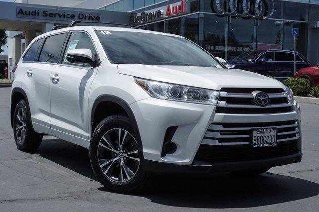 used 2018 Toyota Highlander car, priced at $30,999