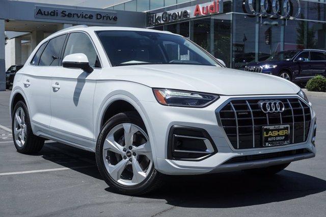 new 2021 Audi Q5 car, priced at $55,960