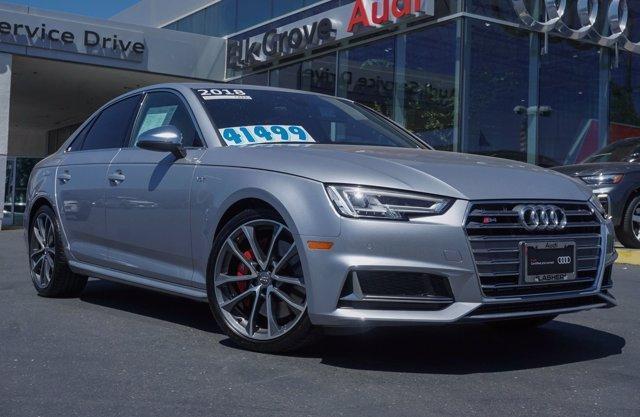 used 2018 Audi S4 car, priced at $41,499