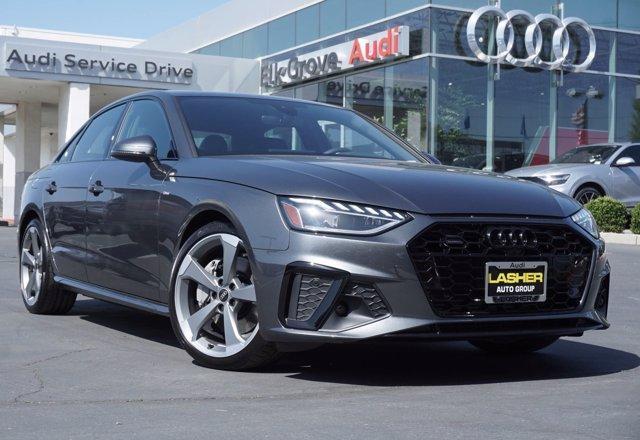 new 2021 Audi A4 car, priced at $51,365