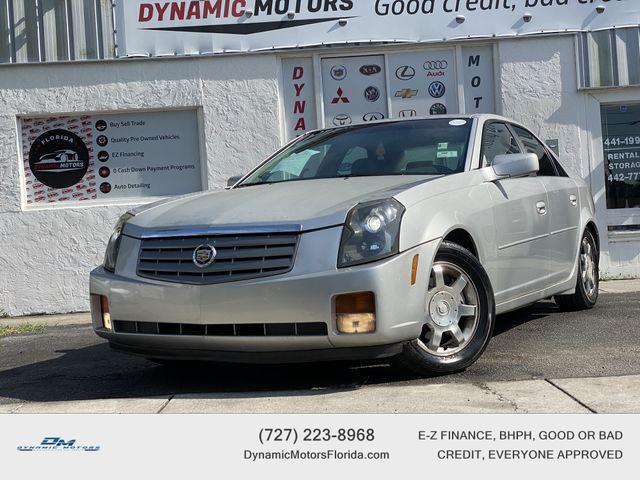 used 2003 Cadillac CTS car, priced at $5,995