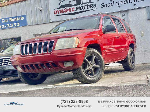 used 2002 Jeep Grand Cherokee car, priced at $3,895