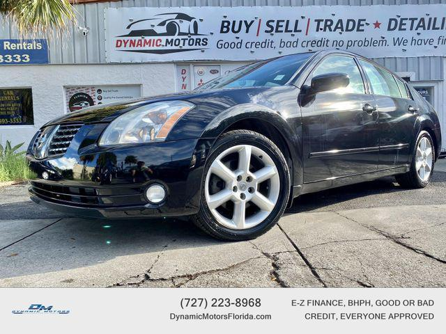 used 2004 Nissan Maxima car, priced at $4,895