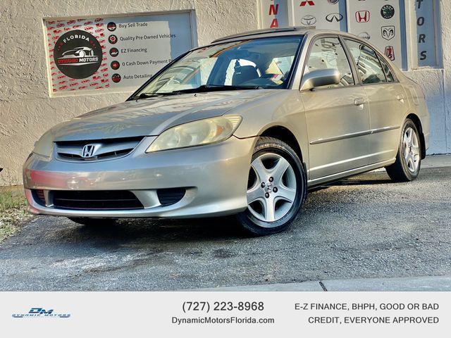 used 2004 Honda Civic car, priced at $4,895