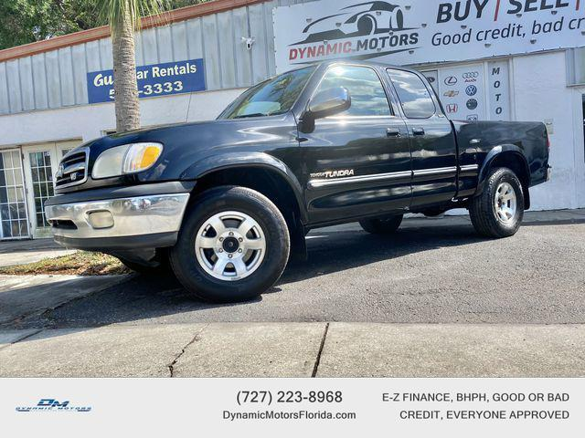 used 2000 Toyota Tundra car, priced at $6,895