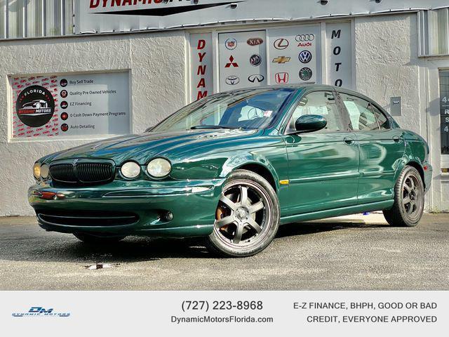used 2002 Jaguar X-Type car, priced at $5,995