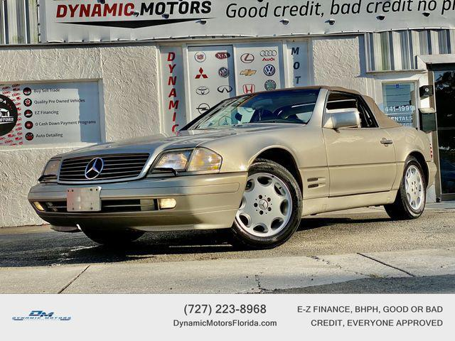 used 1996 Mercedes-Benz SL-Class car, priced at $6,895