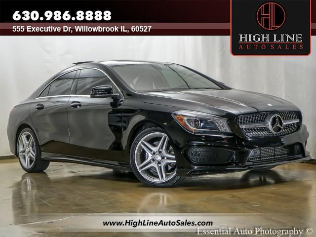 used 2014 Mercedes-Benz CLA-Class car, priced at $21,995