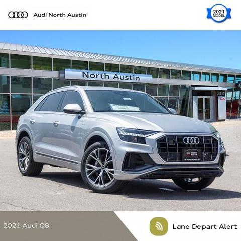 new 2021 Audi Q8 car, priced at $78,855