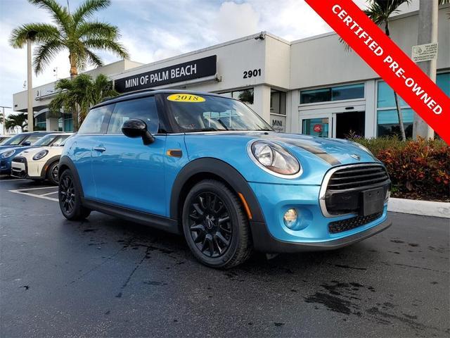 used 2018 MINI Hardtop car, priced at $21,680