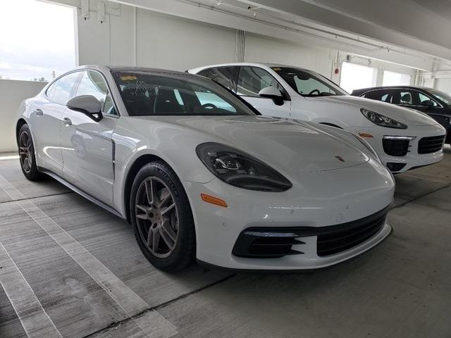 used 2018 Porsche Panamera car, priced at $80,000