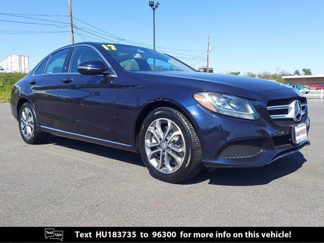 used 2017 Mercedes-Benz C-Class car, priced at $23,547
