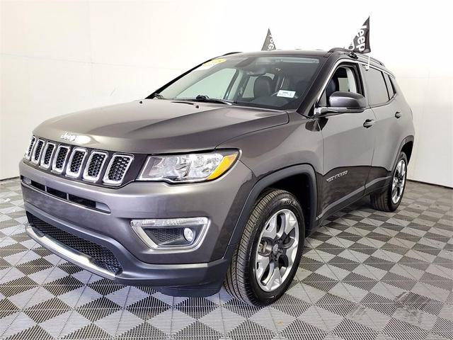 used 2018 Jeep Compass car, priced at $21,500