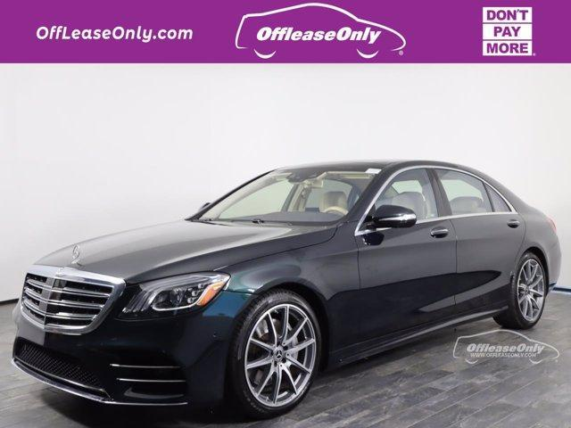 used 2018 Mercedes-Benz S-Class car, priced at $55,999