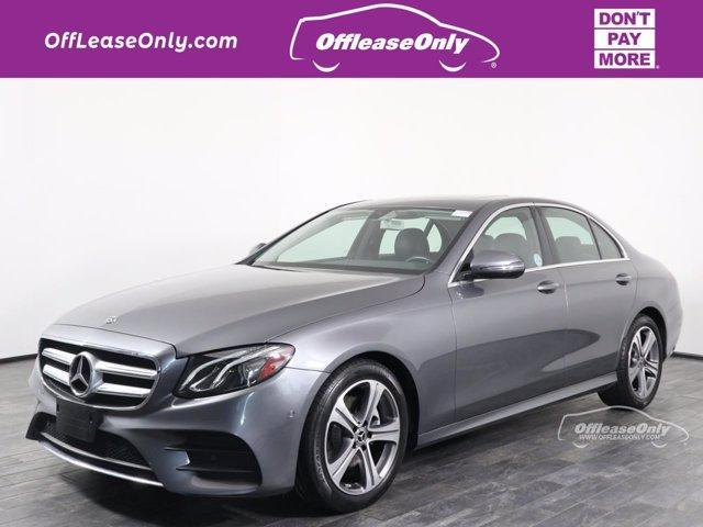 used 2018 Mercedes-Benz E-Class car, priced at $34,499