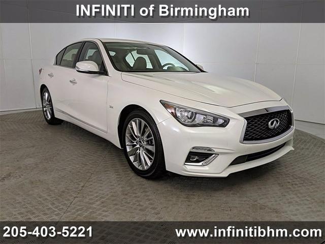 used 2019 INFINITI Q50 car, priced at $28,955