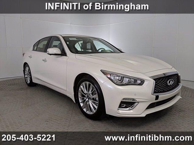 new 2021 INFINITI Q50 car, priced at $44,735