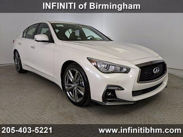 new 2021 INFINITI Q50 car, priced at $51,410