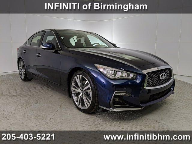 new 2021 INFINITI Q50 car, priced at $51,135