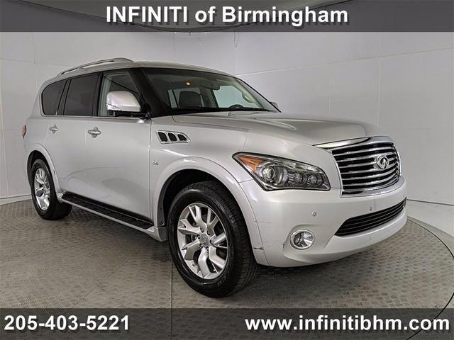used 2014 INFINITI QX80 car, priced at $31,728