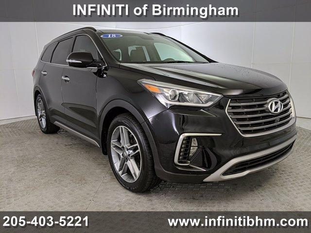 used 2018 Hyundai Santa Fe car, priced at $28,314