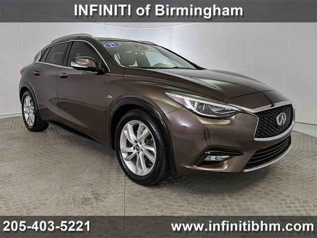 used 2017 INFINITI QX30 car, priced at $27,552