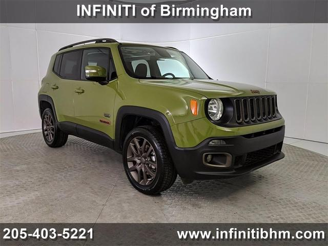 used 2016 Jeep Renegade car, priced at $18,923